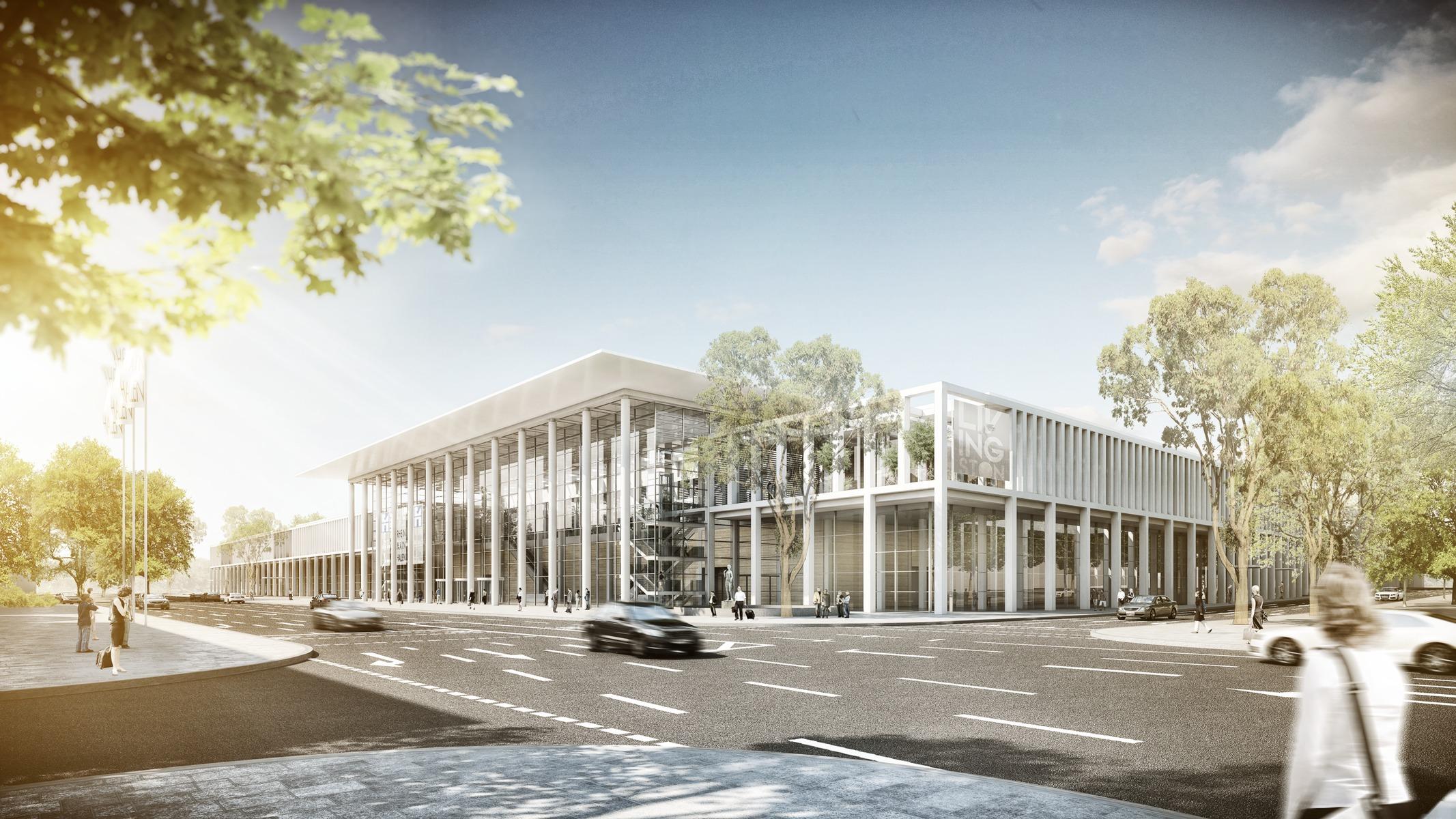 Rhein Main Hallen Wiesbaden Parken