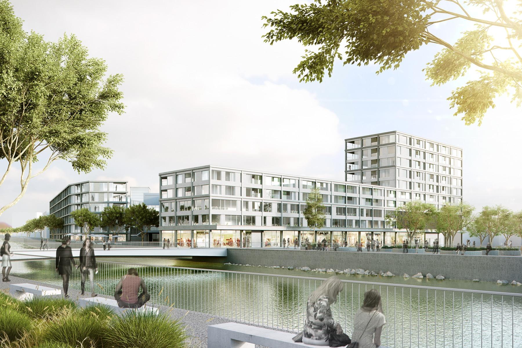Centrum Seetalplatz Emmen - rendertaxi
